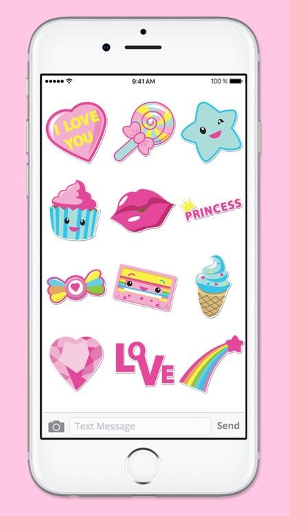 Pretty Pink Stickers Princess Sticker Pack