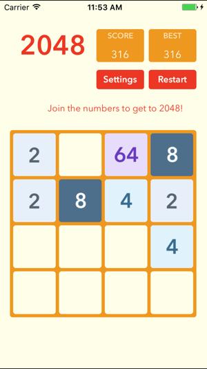 blocks 2048 on the App Store