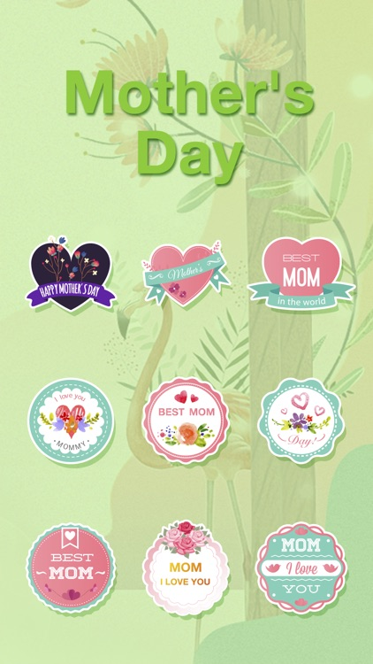 Cute Mother's Day Sticker - Stickers for iMessage screenshot-3