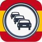 Road information Spain (ES) Real time Traffic Jam icon