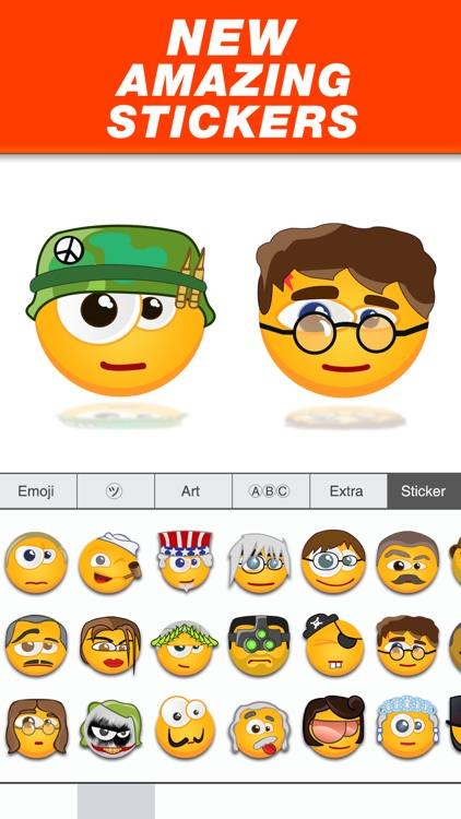 Fun Emoji Stickers - Best emoticons for iMessages