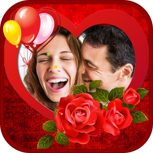 Wishing Card - Valentine Love Card & Photo Sticker app logo