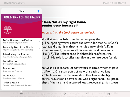 Reflections on the Psalms: Bible notes from CofE | App Price Drops