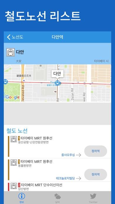 타이완 철도노선도 - 타이페이・가오슝・타이완전체 for Windows
