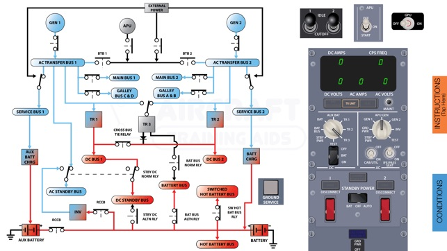 Boeing b737 ng electrical diagram on the app store cheapraybanclubmaster Choice Image