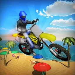 Crazy Beach Bike Stunts Sim