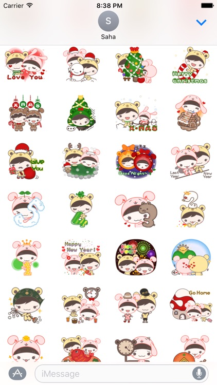 Happy New Year Stickers Vol2