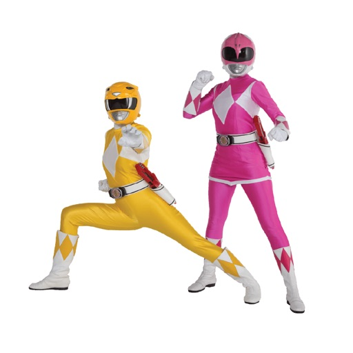 Power Rangers Girl Power Stickers