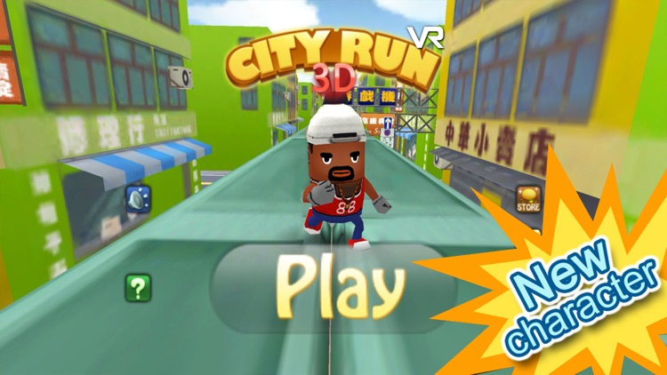 3D City Run VR for Google Cardboard-Parkour game! by Jelly k