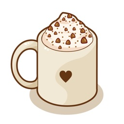 Coffee LOVe Sweets Animated Stickers