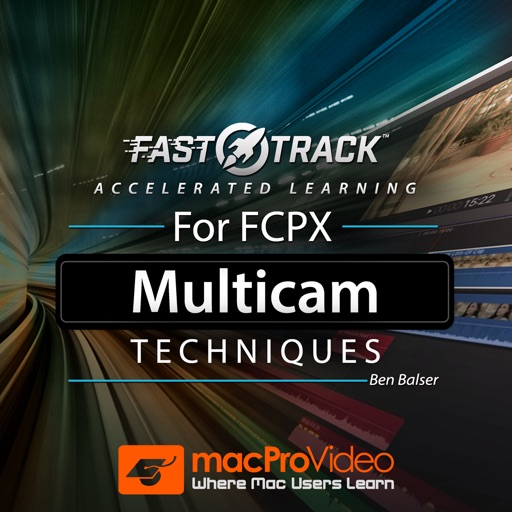 FastTrack™ for FCPX Multicam Techniques iOS App