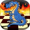 Checkers with Dragons & Beasts Boards Pro