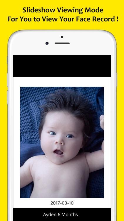 FACED – Face Changes Tracker (Photo & Slideshow) screenshot-4
