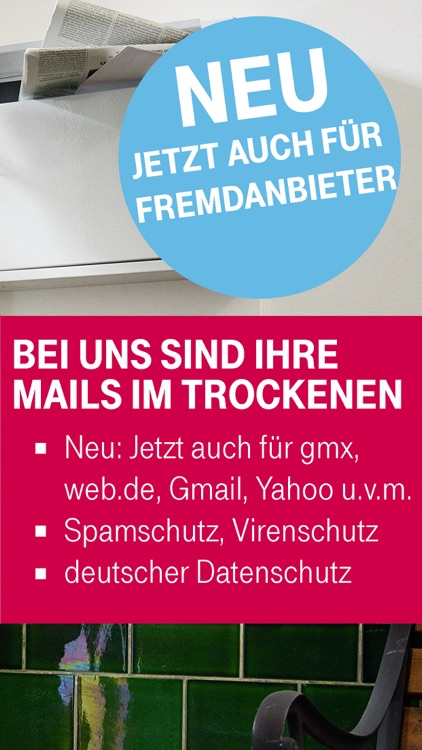 Telekom Mail screenshot-1