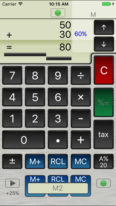 Percent Calculator review screenshots