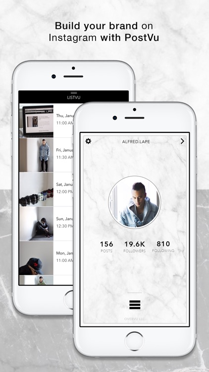 PostVu: Visual Planner