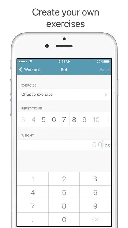 Pump — Gym Log screenshot-4