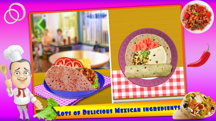 Mexican Food Chef Cooking Game screenshot-3