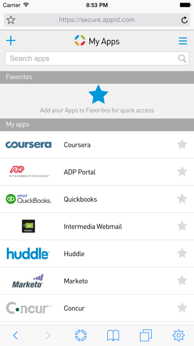 Скриншот №2 к Intermedia AppID