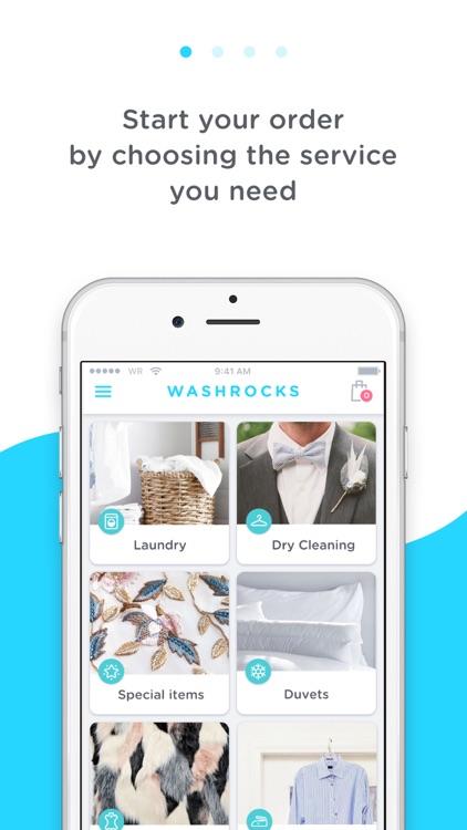 WASHROCKS - Laundry delivery