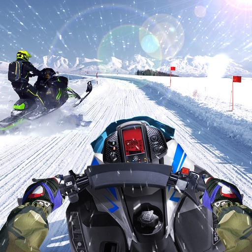 Drive Snowmobile 3D Simulator iOS App