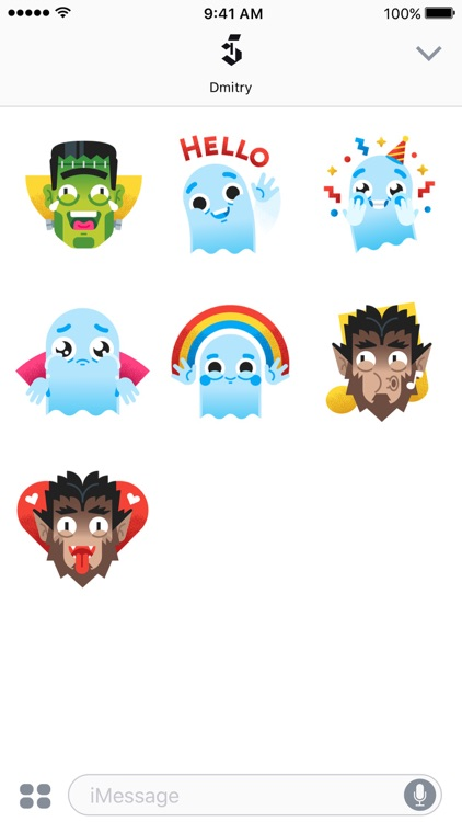 Monster Squad – Animated Stickers