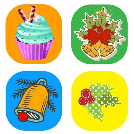 New Year Celebration Stickers