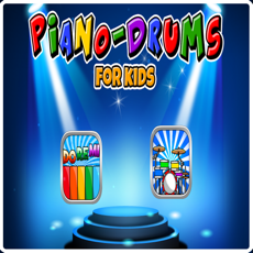 Activities of Piano & Drums for kids