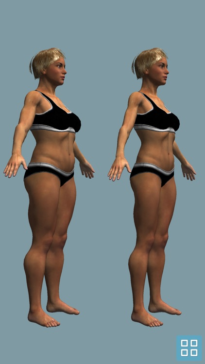 BMI 3D Pro (3D Body Mass Index calculator) screenshot-3