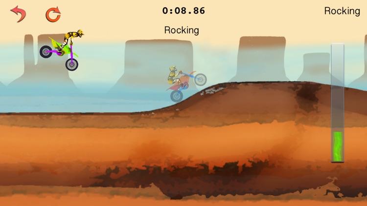 Dirt Bike Classic Racing Game screenshot-4