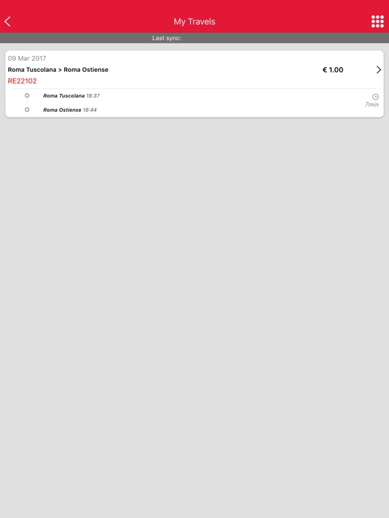 Trenitalia for iPad screenshot-2