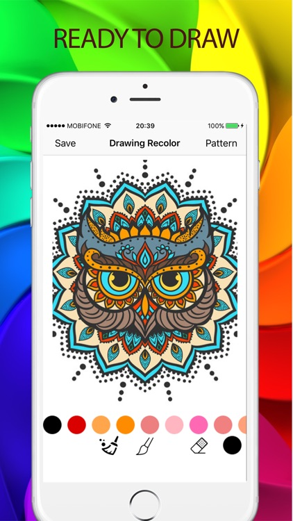 Sketches Color - a relaxing coloring book for kids