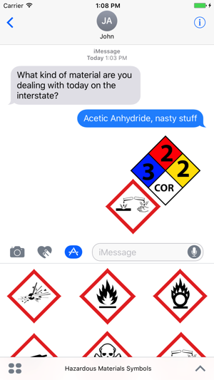 Ghs Nfpa Hazard Symbols On The App Store