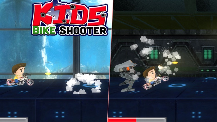 Kids Bike Shooter : Bike Racing Shooter For Kids screenshot-3
