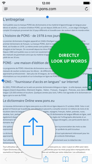 ac6b0607e Dictionary German - French SCHOOL by PONS on the App Store