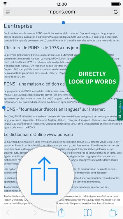 Dictionary German - French screenshot-3