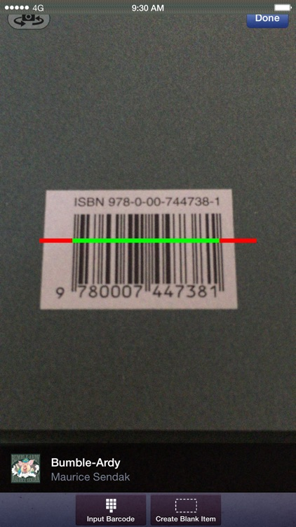 Barcode Library Scan & Catalog