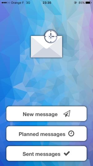 Timed - Message Screenshot