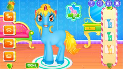 Unicorn Princess Dressup & Cleanup screenshot four