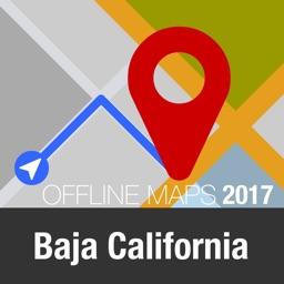 Baja California Offline Map and Travel Trip Guide