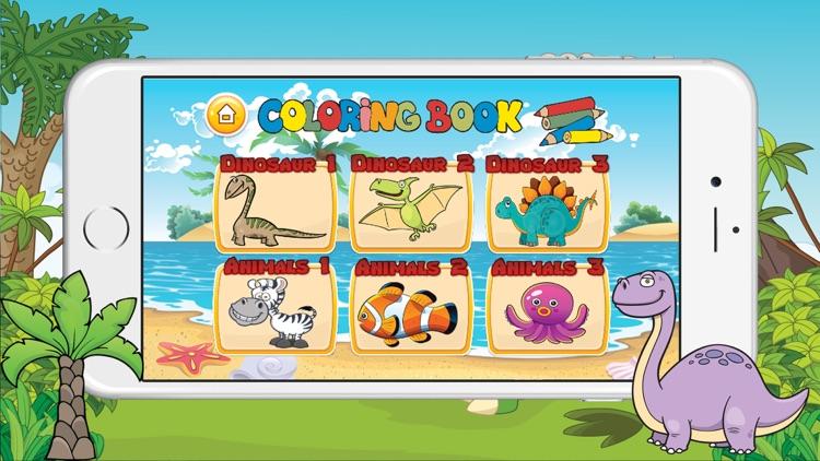 Abc Kindergarten & coloring book pictures