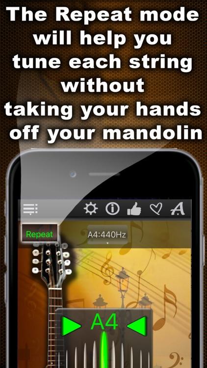 Easy Mandolin Tuner screenshot-3