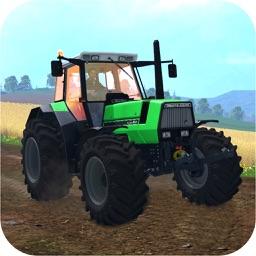 Real Farm Harvesting Simulator: Tractor Driver Sim
