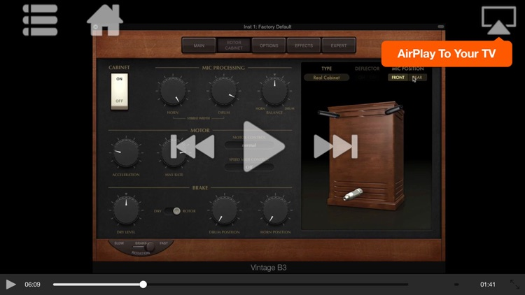 FastTrack™ For Logic Vintage B3 Organ