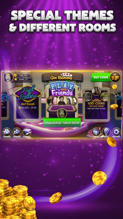 Gin Rummy Plus - Multiplayer Online Card Game screenshot-3