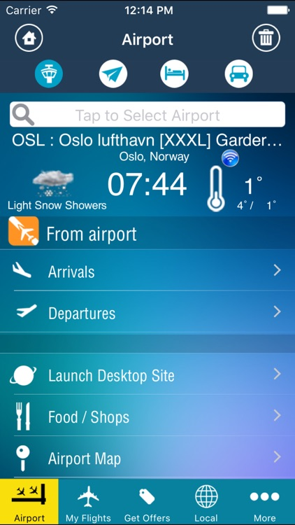 Oslo Airport Pro (OSL) + Flight Tracker screenshot-0