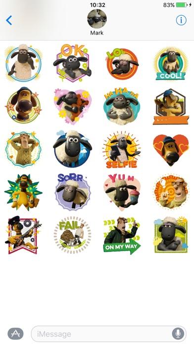 Shaun the Sheep Stickers