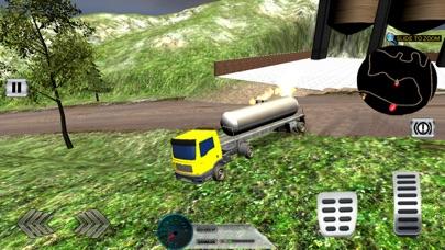 关闭道路石油运输-卡车拖车驾驶 3D App 截图