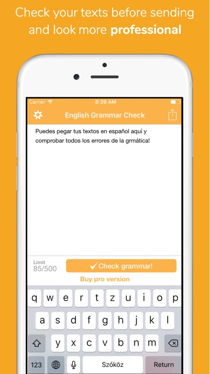 Corrígeme Lite- Spanish Spelling and Grammar check