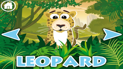 Jungle animals name and sound · Kids Learning screenshot three